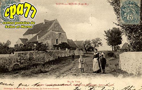 St Cyr Sur Morin - Ru de Vrou