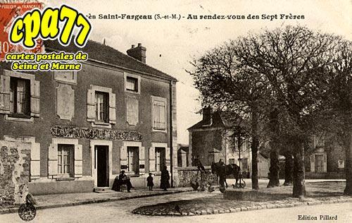 St Fargeau Ponthierry - Tilly - Au rendez-vous des Sept frères (en l'état)