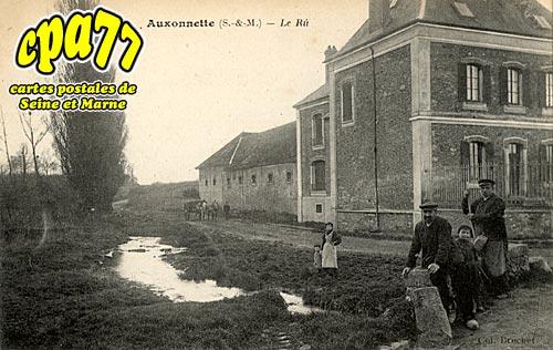 St Fargeau Ponthierry - Auxonettes - Le Rû