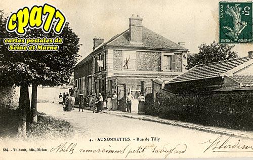 St Fargeau Ponthierry - Auxonnettes - Rue de Tilly