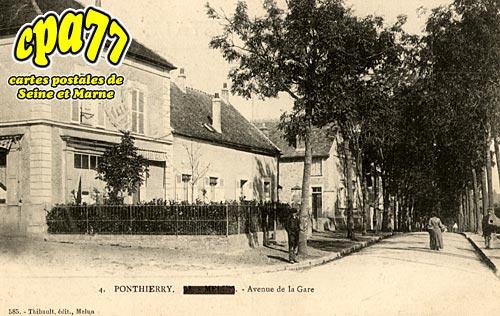 St Fargeau Ponthierry - Avenue de la Gare