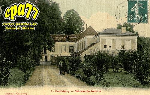 St Fargeau Ponthierry - Château de Jonville