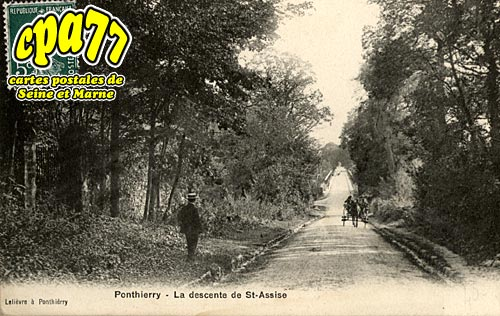 St Fargeau Ponthierry - La Descente de St-Assise