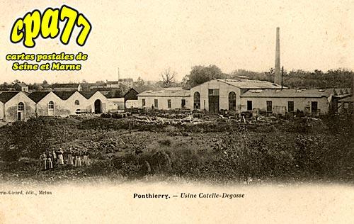St Fargeau Ponthierry - Usine Cotelle-Degosse