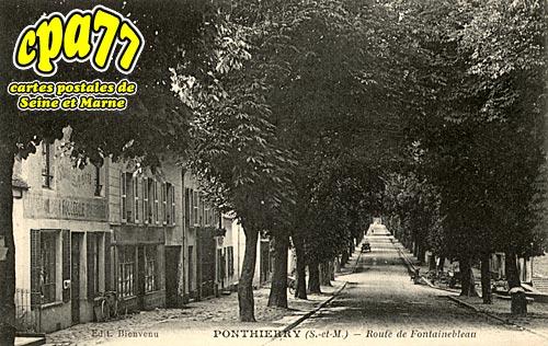 St Fargeau Ponthierry - Route de Fontainebleau