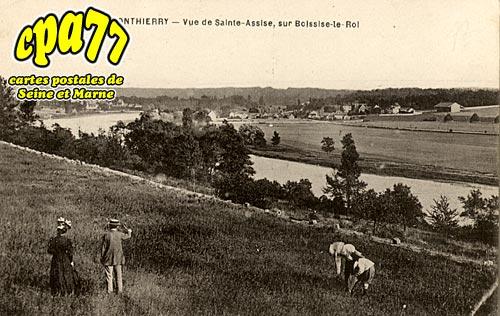 St Fargeau Ponthierry - Vue de Sainte-Assise, sur Boissise-le-Roi