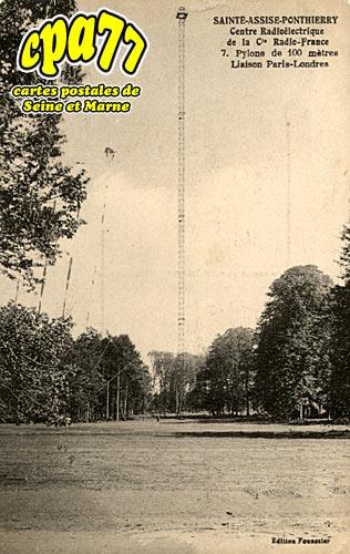 St Fargeau Ponthierry - Sainte-Assise - Centre Radioélectriquede la Cie Radio-France