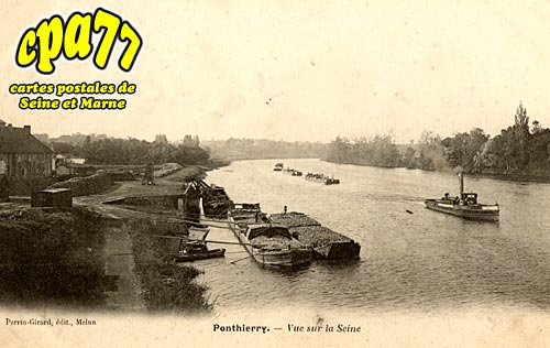 St Fargeau Ponthierry - Vue sur la Seine
