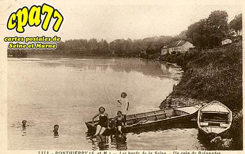 St Fargeau Ponthierry - Les Bords de la Seine - Un coin de Baignades