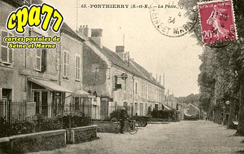 St Fargeau Ponthierry - La Poste