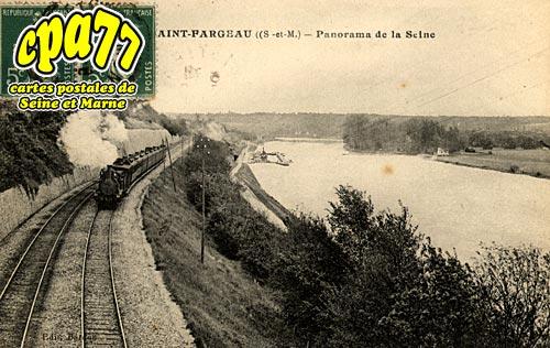 St Fargeau Ponthierry - Panorama de la Seine