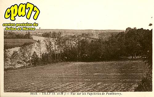 St Fargeau Ponthierry - Vue sur les papeteries de Ponthierry