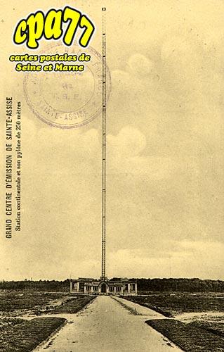 St Fargeau Ponthierry - Grand Centre d'Emission de Sainte-Assise