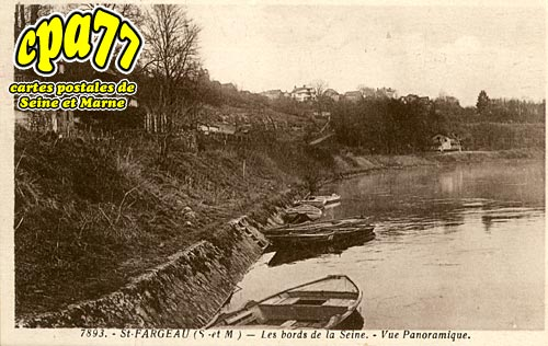 St Fargeau Ponthierry - Les Bords de la Seine - Vue Panoramique