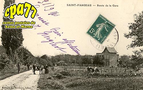 St Fargeau Ponthierry - Route de la Gare