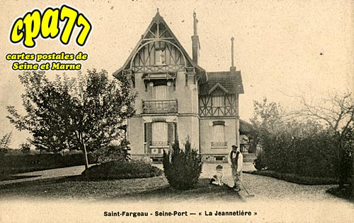 St Fargeau Ponthierry - Seine-Port -