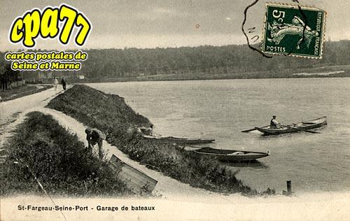 St Fargeau Ponthierry - Garage de bateaux