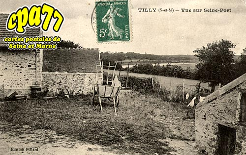 St Fargeau Ponthierry - Tilly - Vue sur Seine-Port