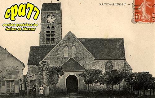 St Fargeau Ponthierry - L'Eglise