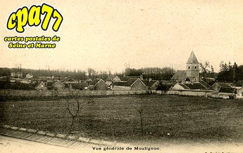 St Fargeau Ponthierry - Vue générale de moulignon