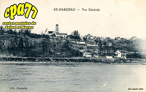 St Fargeau Ponthierry - Vue générale