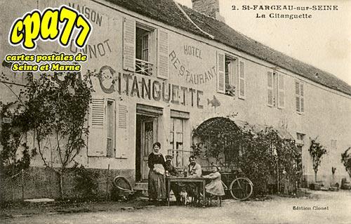 St Fargeau Ponthierry - La Citanguette