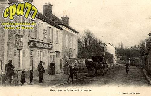 St Fargeau Ponthierry - Moulignon - Route de Ponthierry
