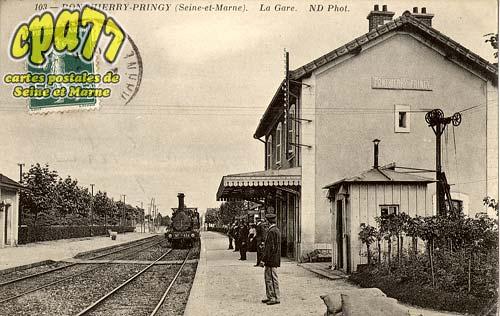 St Fargeau Ponthierry - Ponthierrry-Pringy - La Gare