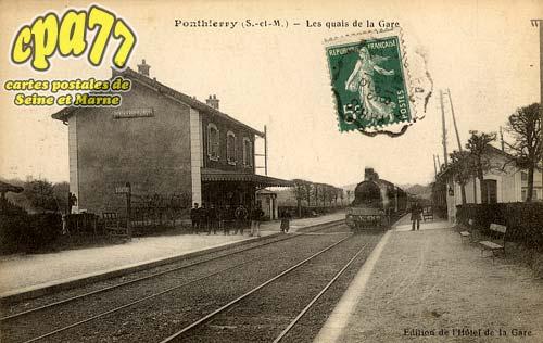 St Fargeau Ponthierry - Les Quais de la Gare