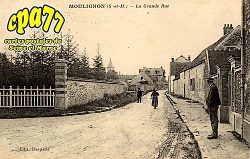 St Fargeau Ponthierry - La Grande Rue
