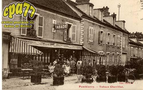 St Fargeau Ponthierry - Tabacs Chevillot