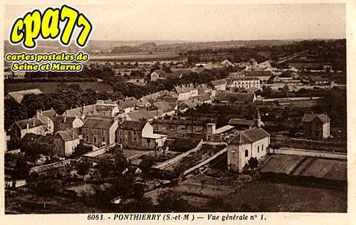 St Fargeau Ponthierry - Vue générale n° 1