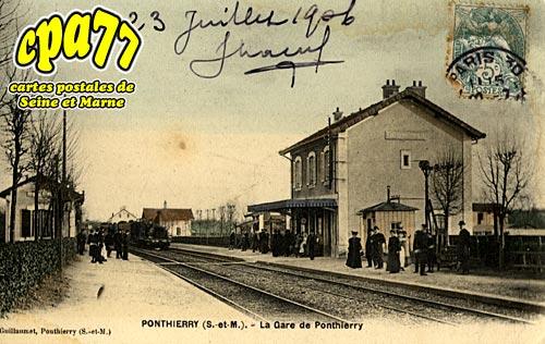 St Fargeau Ponthierry - La Gare de Ponthierry
