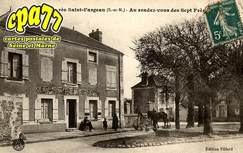St Fargeau Ponthierry - Tilly - AU Rendez-vous des Sept Frères