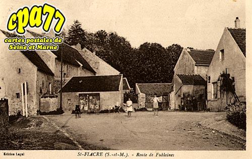 St Fiacre - Route de Fublaines
