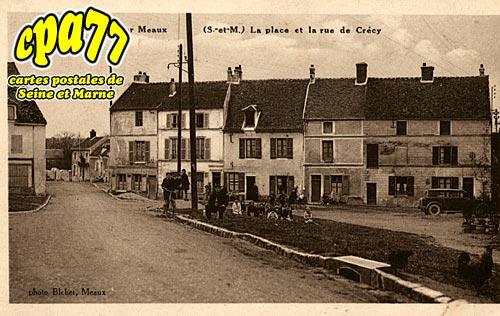 St Fiacre - La Place et la Rue de Crécy