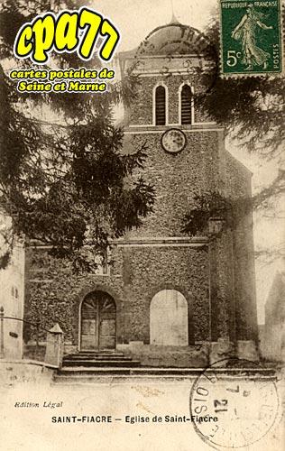 St Fiacre - Eglise