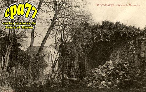 St Fiacre - Ruines du Monastère