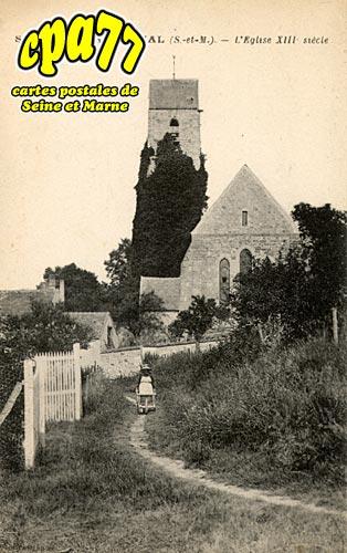 St Germain Laval - L'Eglise XIIIe siècle