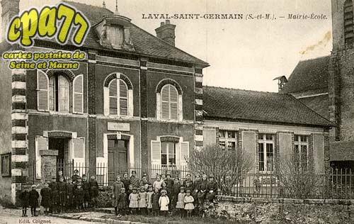 St Germain Laval - Mairie-Ecole