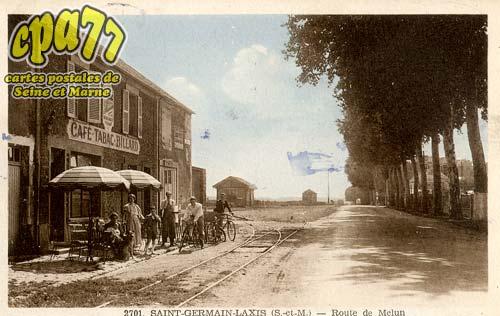 St Germain Laxis - Route de Melun