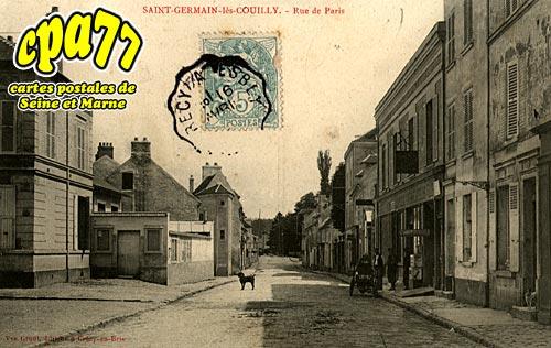 St Germain Sur Morin - Rue de Paris