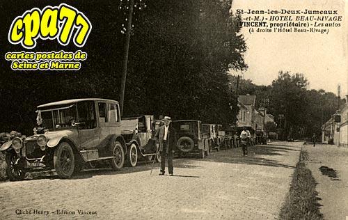 St Jean Les Deux Jumeaux - Hôtel Beau-Rivage  (rare)