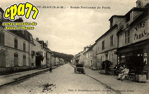 St Jean Les Deux Jumeaux - Route Nationale de Paris