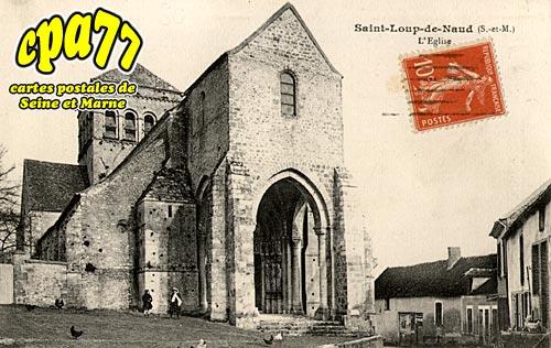 St Loup De Naud - L'Eglise