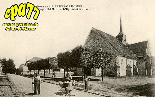 St Martin Des Champs - L'Eglise et la Place