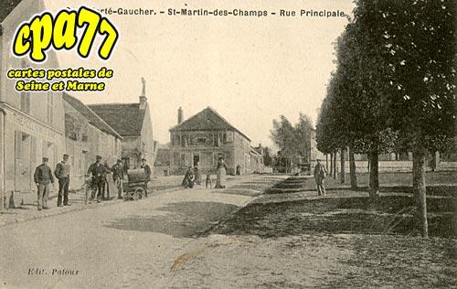 St Martin Des Champs - Rue Principale
