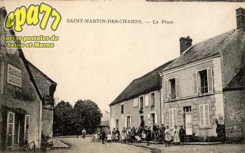 St Martin Des Champs - La Place