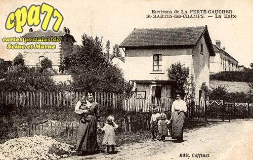 St Martin Des Champs - Environs de la Ferté-Gaucher - La Halte
