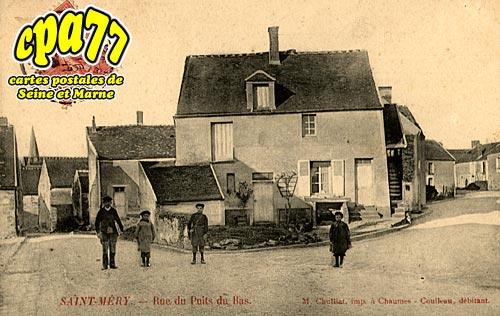 St Méry - Rue du Puits du Bas